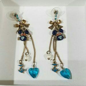 NWOT Betsey Johnson Earrings
